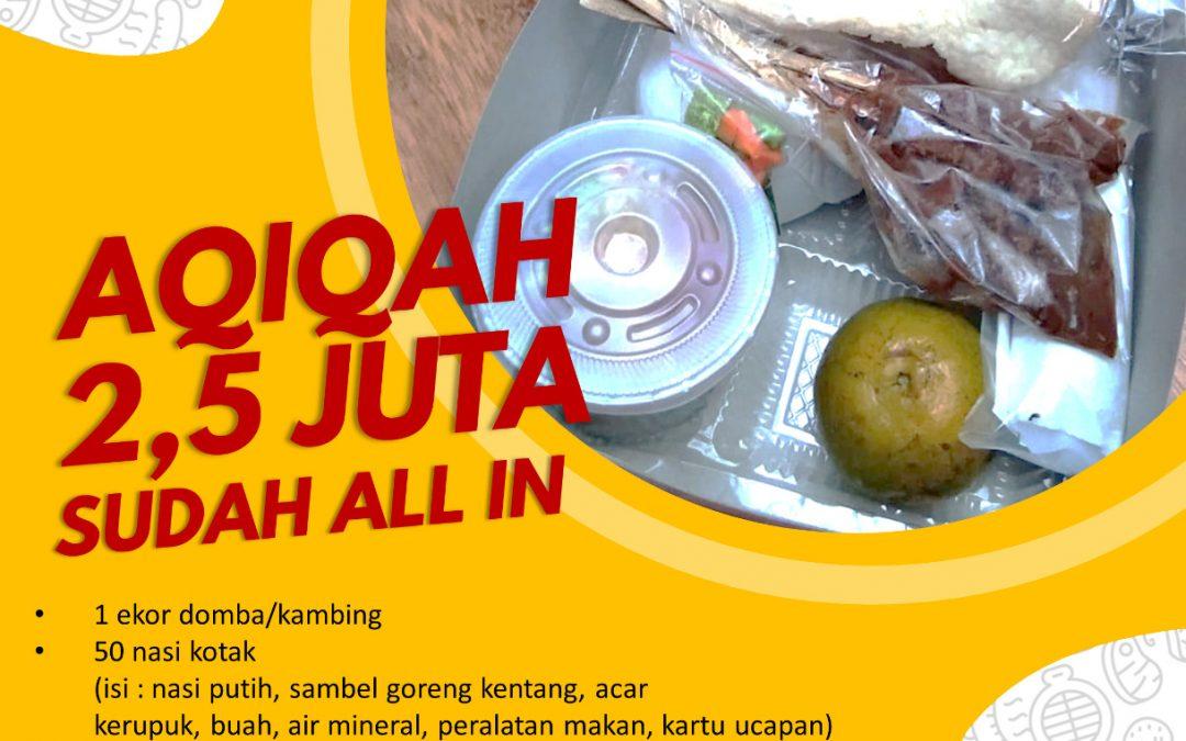 Jasa Aqiqah Bintaro | 08128314341 | Lezat dan Murah | Sesuai Sunnah |